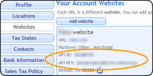 websites_api_id_and_key