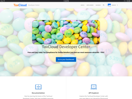 TaxCloud Developer Center